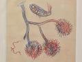 Max Ernst ne peint plus..lithograhie originale.N° 221SL 1973
