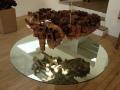 Juan Ferrer racine sculptée recto verso