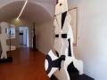 Œuvres de Georges Lauro sculptures bois peint