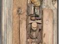 Louis Pons  - N° 7113 La petite friande montage  160x31 cm 1986