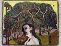 Jean Deldevez N° 4218 huile sur Isorel 50x61 cm