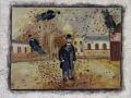 Jean Deldevez N° 4241 huile sur Isorel 49x59 cm