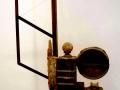 Louis Pons N° 1355  Jouet pour adultes Monument pour Erik Satie - 1962 -  76x52x26 cm