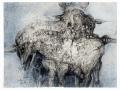 Louis Pons, Nocturne - N° 1097 - 1962 - 67x51 cm