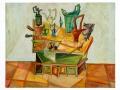 Louis Pons, Nature morte gouache sur papier - N°-504 - 1952 - 50x65 cm