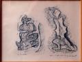 Max-Ernst-a-Poucette-N°-8924-frottage-sur-papier-23x31-recto-cm