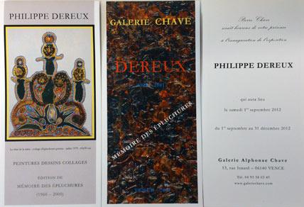 MÉMOIRE DES ÉPLUCHURES – PHILIPPE DEREUX