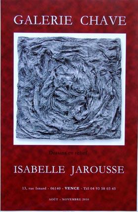 ISABELLE JAROUSSE Exposition de dessins en relief